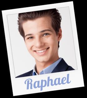 Raphael wird gespielt von Niklas Nißl