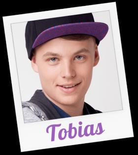 Tobias wird gespielt von Patrick Katzer